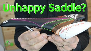 Unhappy with your Saddle? Learn what shapes works best. How to read Saddles