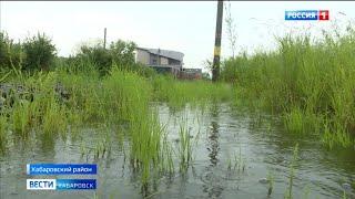 Режим ЧС введён в Хабаровском районе из-за подъема уровня Амура