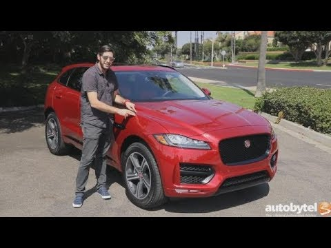 2018 Jaguar F-Pace 25t R-Sport Test Drive Video