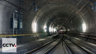 Gotthard Base Tunnel in Switzerland set to open