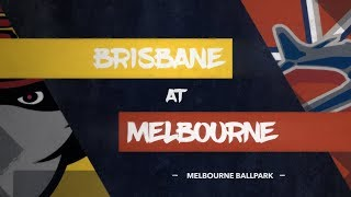 GAME REPLAY: Brisbane Bandits @ Melbourne Aces, R3/G1