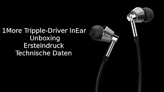 1More InEar Triple Driver - Unboxing - Ersteindruck - MicaTech