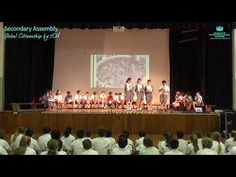 Secondary School Assembly: Global Citizenship by 7CM