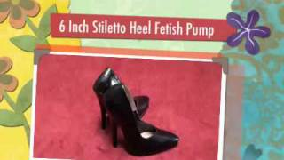 6 INCH STILETTO HEELS SPIKEANGEL