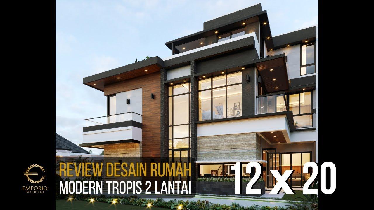 Video 3D Desain Rumah Modern 2 Lantai Bapak Putra di BSD, Tangerang Selatan, Banten