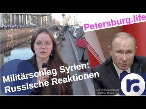 Militärschlag in Syrien: Putins und russische Reaktionen [Video]