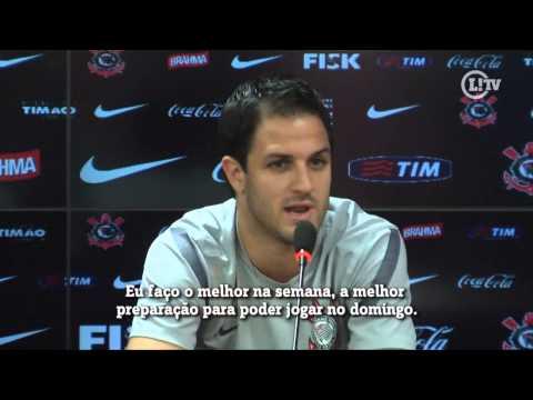 Martínez diz que só sendo titular do Corinthians vai chegar a seleção Argentina