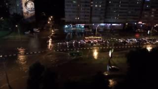 Цунами в Харькове / дождь 30.06.16 / Харьков затопило на Гагарина