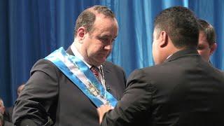 Giammattei swears in as Guatemala president under corruption cloud | AFP