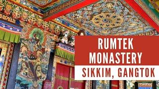 The Rumtek Monastery at Gangtok in Sikkim