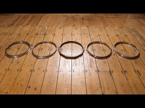 Snare Drum Hoops Comparison – Drummer's Review
