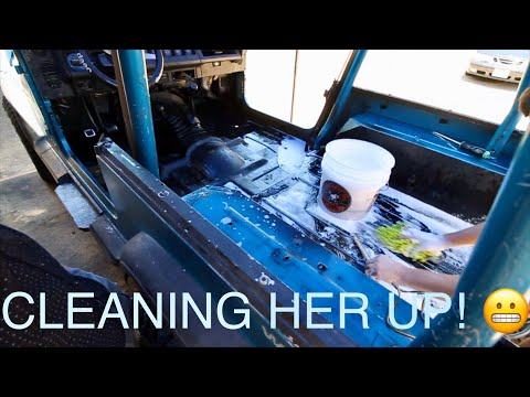 Project YJ Series: Part 1 - Cleaning and Repainting the Tub!
