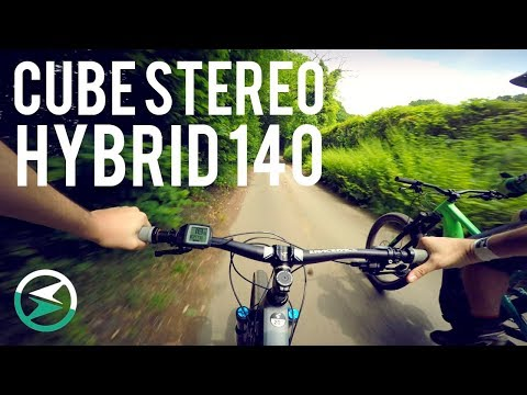 Cheeky little ride on a Cube Stereo Hybrid 140 | EMTB Forums