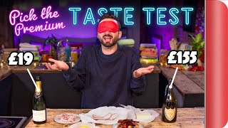 Blind Tasting PREMIUM Ingredients vs BUDGET Ingredients | Where Best to Spend Your Money? Ep. 3