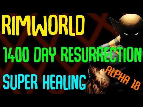 Rimworld Beta 18 Resurrecting 1400 Day Old Corpse, Other