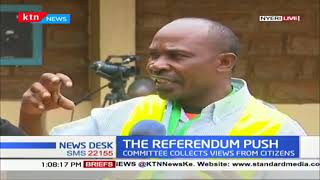 REFERENDUM PUSH: MPs committee visits Nyeri to collect residents' views on 2/3 gender rule