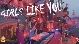 Maroon 5 - Girls Like You ft. Cardi B (Nxyty Hardstyle Remix)