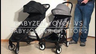 Babyjogger City Tour 2 VS Babyzen Yoyo+: Mechanics, Comfort, Use