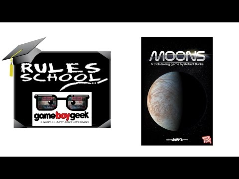 Learn How To Setup & Play Moons (Rules School) with the Game Boy Geek