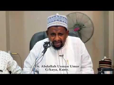 DR ABDALLAH USMAN UMAR GADON KAYA.