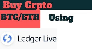 Ledger Live Crypto Kaufen