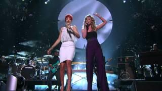 Rihanna & Jennifer Nettles - California King - ACM Awards 2011