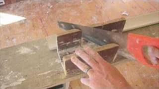 Cornices-Tips On External/ Internal Miters Part 1