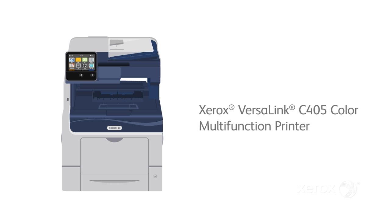 Xerox® VersaLink® C405: Count On It YouTube Video