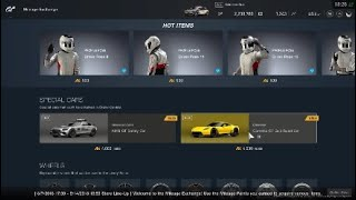 GT Sport   Mileage Exchange store update Return corvette C7 Gr 3 Road Car and New Profile Poses