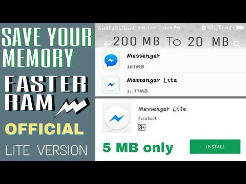 Facebook Messenger Lite Newest Version Download