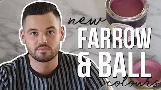NEW FARROW & BALL PAINT COLOURS REVIEW