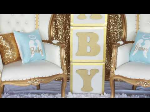 Heaven Sent Baby Shower by Grace's Events