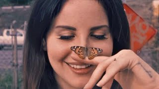 Lana Del Rey Reveals What inspired Happiness Is A Butterfly + What Is Happiness to Her