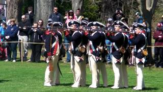 United States Army Old Guard  - Continental Army Demonstration - Lexington MA - April 19, 2014