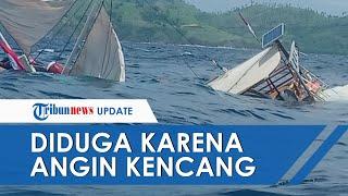 Video Detik-detik Kapal yang Ditumpangi Wartawan Terbalik di Labuhan Bajo, Semua Penumpang Selamat