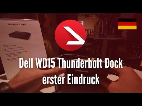 Dell Dock WD15 erster Eindruck [4K UHD]