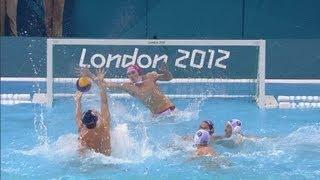 Mens Water Polo Preliminary Round - GBR V USA | London 2012 Olympics