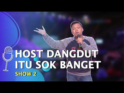 stand up comedy rahmet soal dangdut raditya dika lo tetep tukang begal favorit gue - suci