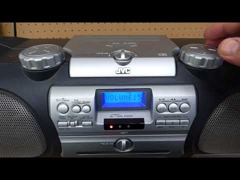 JVC Boombox RV NB 10B