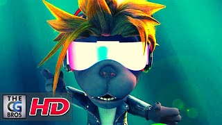 """CGI 3D Animated Short: """"Rockstar Puppy: We Are the Rockstars"""" - by Hoang bros 