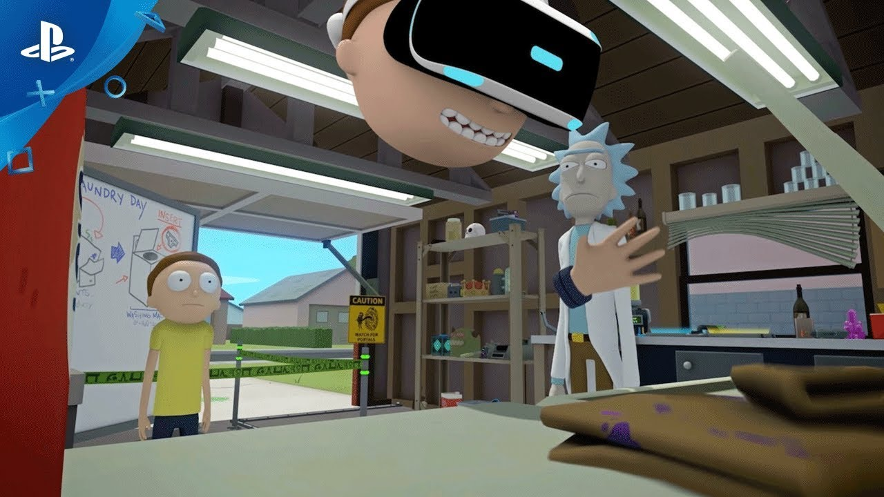 Rick and Morty: Virtual Rick-ality is Coming to PS VR in 2018
