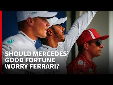 Should Mercedes' Good Fortune Worry Ferrari?