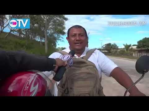 Avanza construcción de carretera en Las Minas