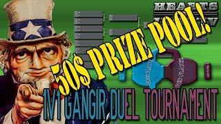 50$ PRIZE POOL! - 1v1 GANGIR DUEL TOURNAMENT 'GREENHORN' - Hearts of Iron IV
