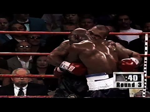 Evander Holyfield vs Mike Tyson II - 1997 (Highlights)