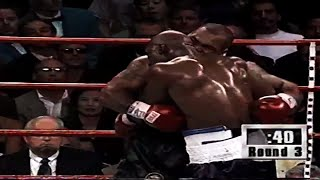"""Evander """"The Real Deal"""" Holyfield vs """"Iron"""" Mike Tyson- 1997 (Highlights)"""