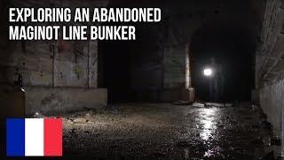 Urbex | Exploring an abandoned WWII Maginot bunker