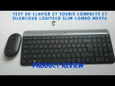 Test du clavier et souris Logitech MK470
