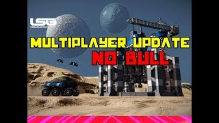 Massive Multiplayer Update (Facts) - Space Engineers