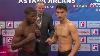 Завтра в Астане встретятся боксеры Казахстана и Кубы